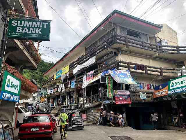 バナウェの中心街